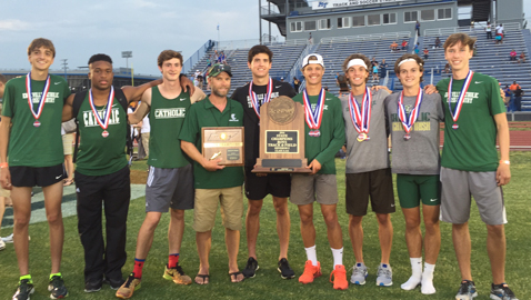 Story and Catholic boys lead local athletes in state track