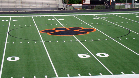 Powell High field first to get new turf