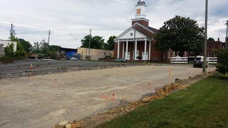 Construction begins on KAT's East Superstop