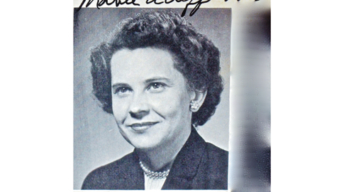 Mabel Acuff: Gibbs' Beloved English Teacher