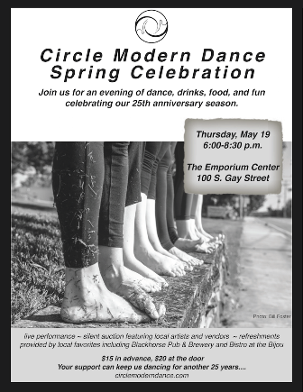 Circle Modern Dance makes final preparations for 25th Anniversary Celebration