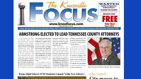 The Knoxville Focus for May 9, 2016