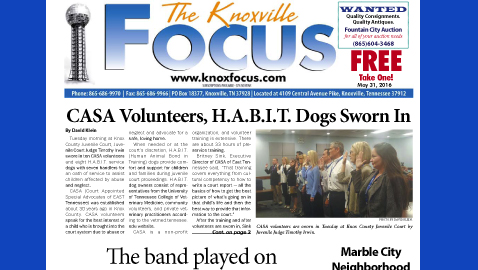 The Knoxville Focus for May 31, 2016