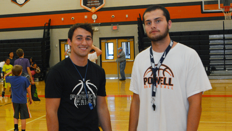 Former players return to coach at middle school camp