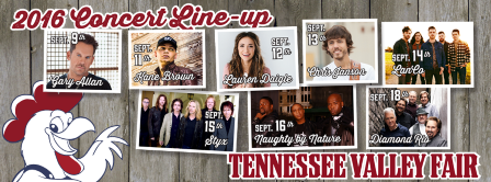 Tennessee Valley Fair Launches Early Bird Sale today