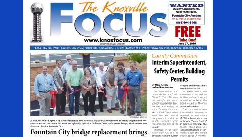 The Knoxville Focus for June 27, 2016