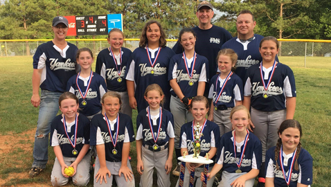 Yankees Crowned 8-10 CBFO Tournament Champions!