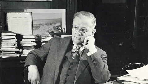 The New Deal's Curmudgeon: Harold L. Ickes, Secretary of the Interior