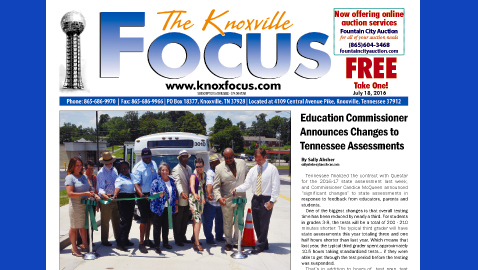 The Knoxville Focus for July 18, 2016