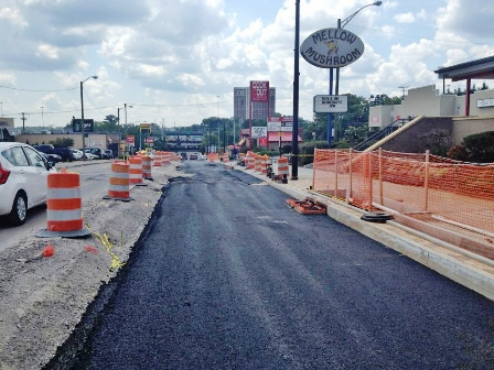 Cumberland Avenue paving schedule adjusted