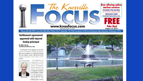 The Knoxville Focus for August 15, 2016