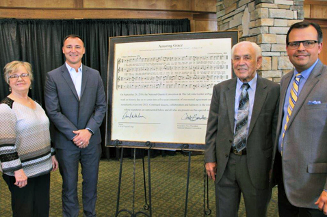 LeConte Center at Pigeon Forge, National Quartet Convention Ink Five-Year Contract Extension