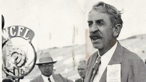 'Alfalfa Bill' Governor William H. Murray of Oklahoma