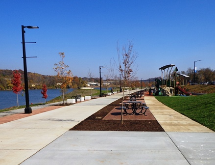 Suttree Landing Park opened