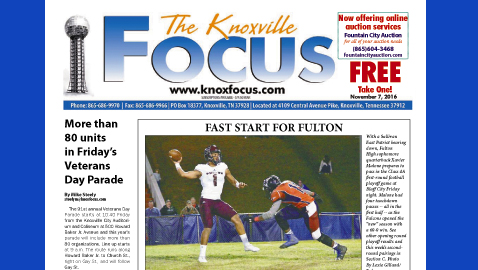 The Knoxville Focus for November 7, 2016