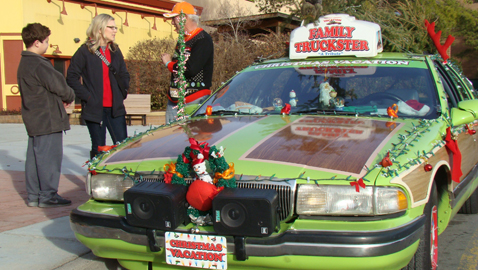 'Tribute Truckster' is now rolling year round