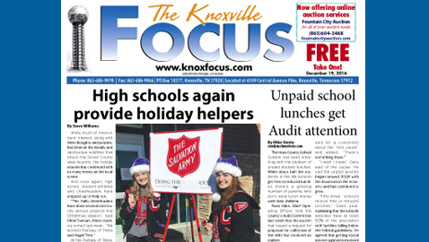 The Knoxville Focus for December 19, 2016