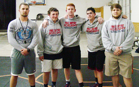 FBA has county's newest wrestling program