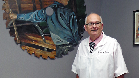 Dr. M.W. Rhyne has new location