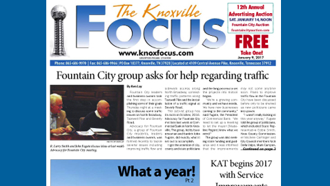 The Knoxville Focus for January 9, 2017
