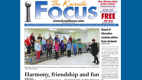 The Knoxville Focus for January 30, 2017