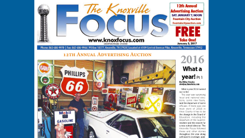 The Knoxville Focus for January 3, 2017