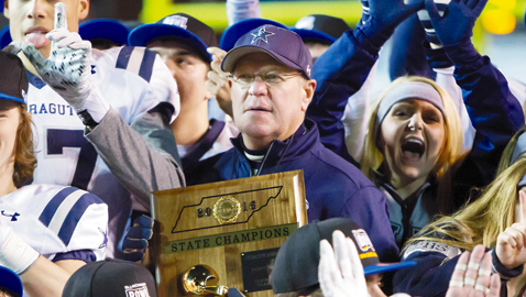 After 40 seasons and state title, Courtney is honored by peers