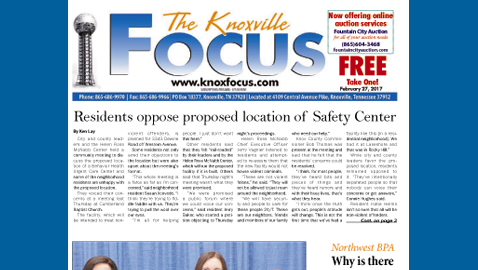 The Knoxville Focus for February 27, 2017