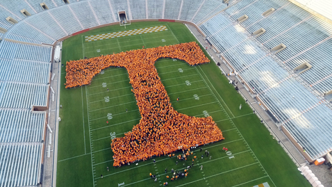 The Volunteers Did It! UT Achieves World Record