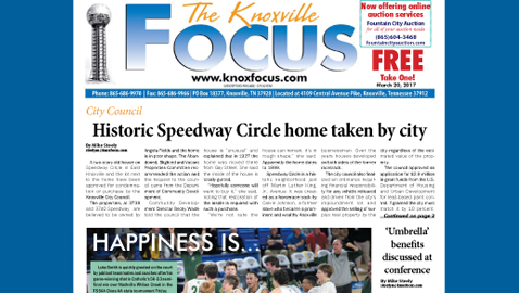 The Knoxville Focus for March 20, 2017