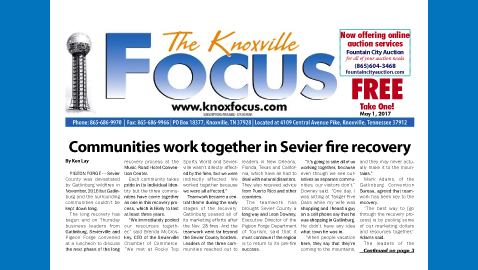 The Knoxville Focus for May 1, 2017