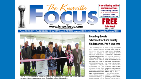 The Knoxville Focus for April 3, 2017