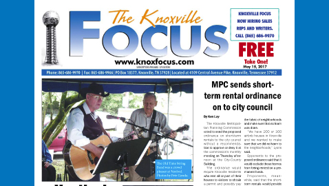 The Knoxville Focus for May 15, 2017