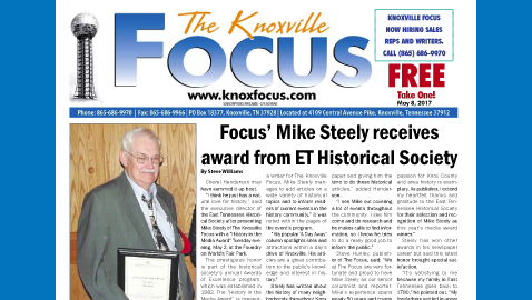 The Knoxville Focus for May 8, 2017