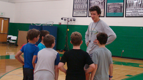 Area camp makes basketball fun for young players