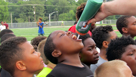 Fulton camp provides top skills instruction and valuable messages