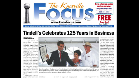 The Knoxville Focus for June 26, 2017
