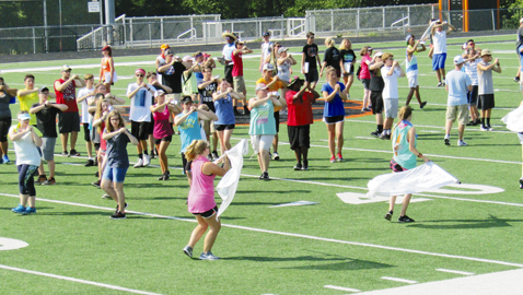 PHS band working on 'Galactic Fever' anniversary tribute