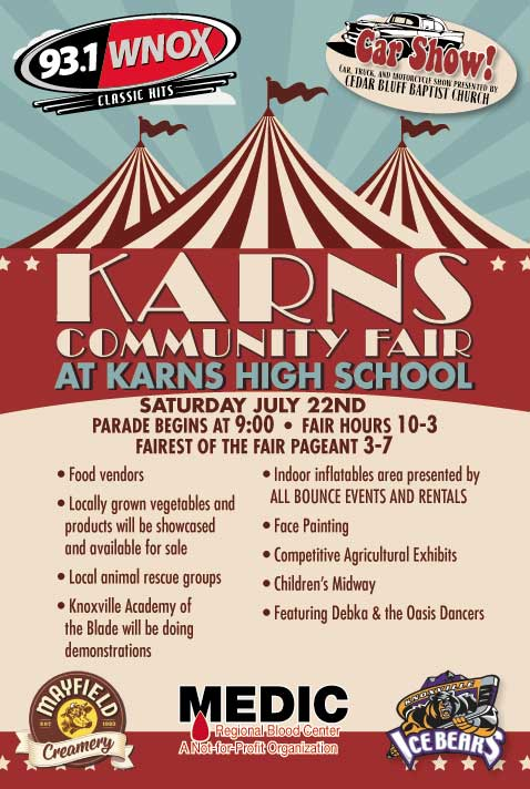 Karns Community Fair at Karns High School