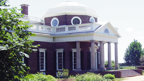 Visiting Jefferson's Monticello