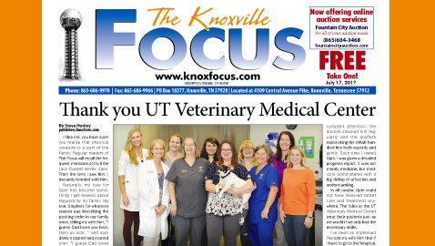 Thank you UT Veterinary Medical Center