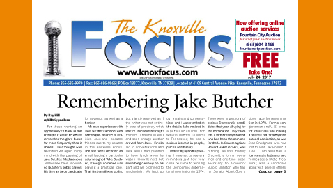 The Knoxville Focus for July 24, 2017
