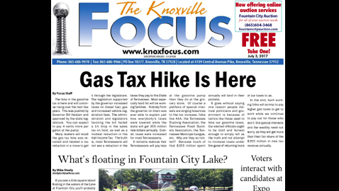 The Knoxville Focus for July 3, 2017
