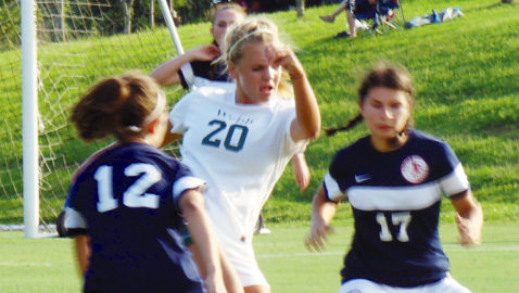 Early surge propels Lady Spartans past South-Doyle in soccer