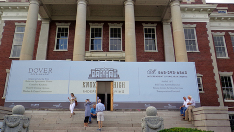 Old Knoxville High School will be 80 senior apartments