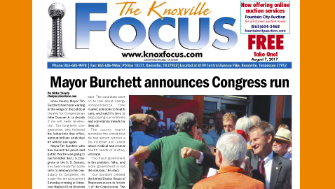 The Knoxville Focus for August 7, 2017