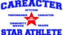 Focus to recognize Careacter Star Athletes