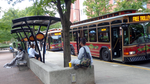Summit Hill residents may get promised bus shelter