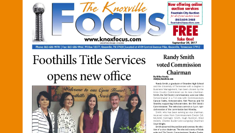 The Knoxville Focus for September 25, 2017
