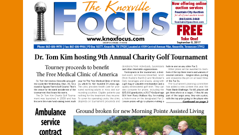 The Knoxville Focus for September 5, 2017